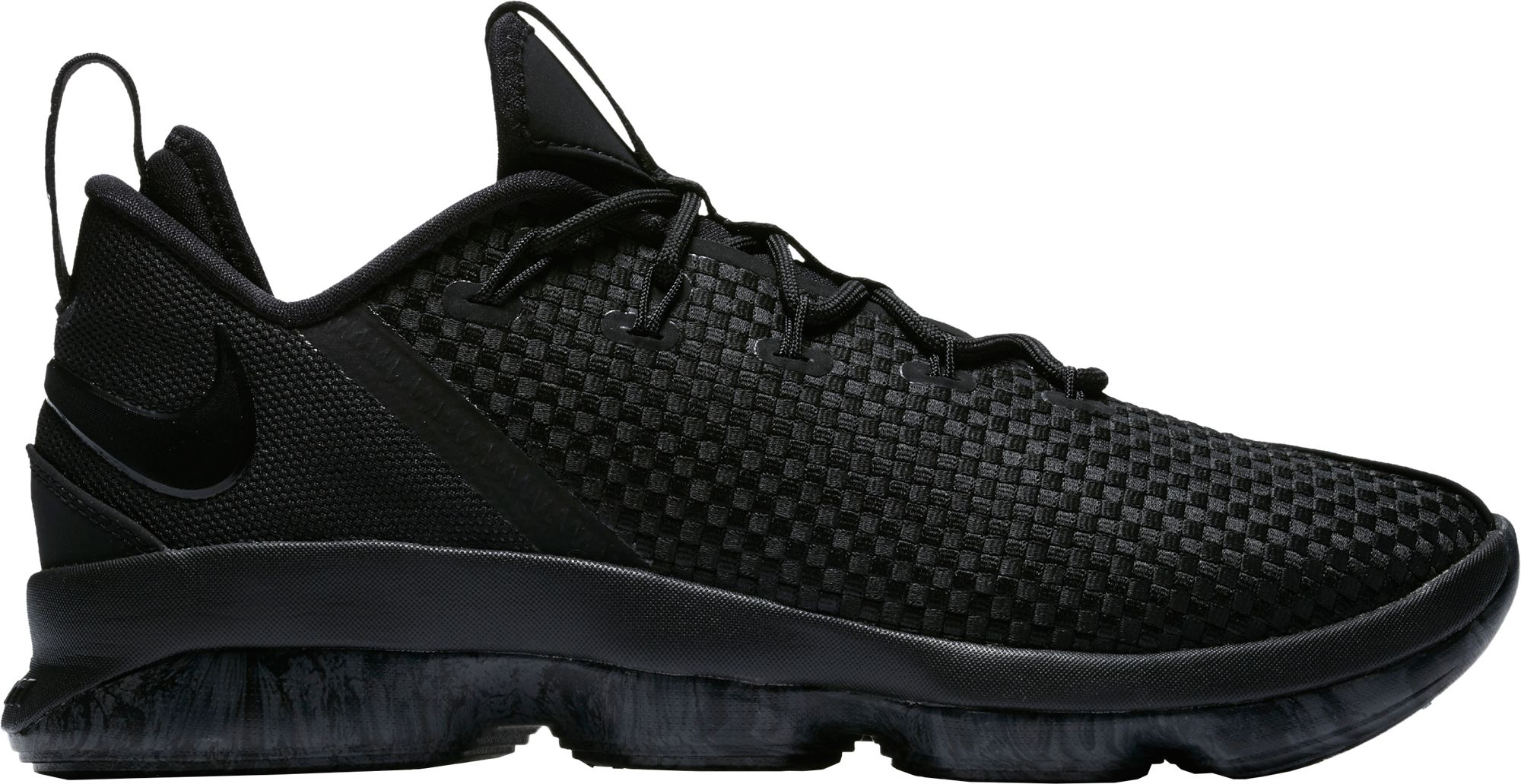online retailer 55f84 b1a21 nike black football shoes lebrons 14 shoes
