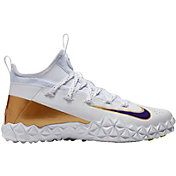 Nike Men's Alpha Huarache 6 Elite TF LE Lacrosse Cleats