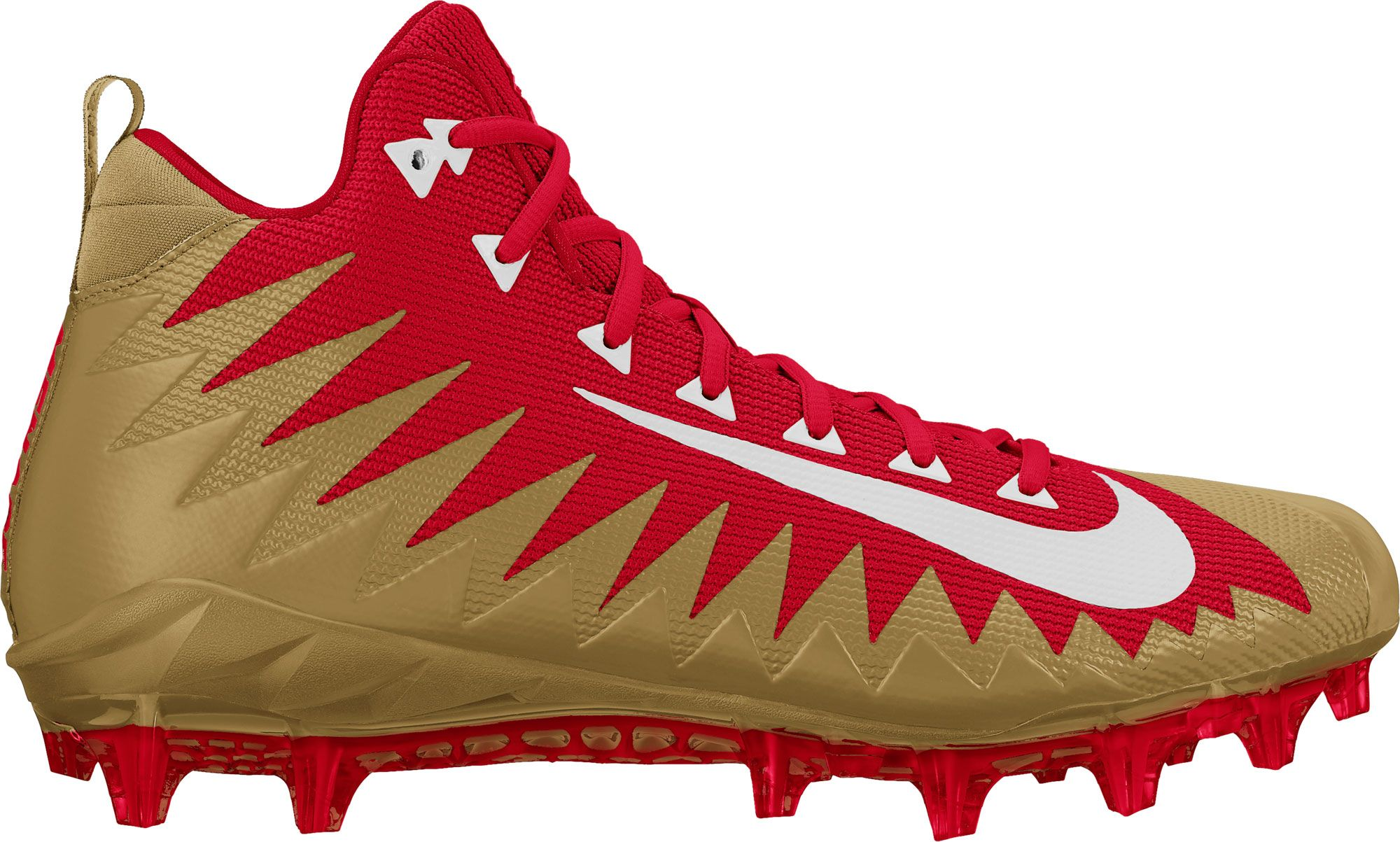 Product Image � Nike Men\u0027s Alpha Menace Pro NFL Mid Football Cleats