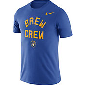 Nike Men's Milwaukee Brewers Dri-FIT ''Brew Crew'' T-Shirt