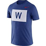 Nike Men's Chicago Cubs Dri-FIT ''W Flag'' T-Shirt