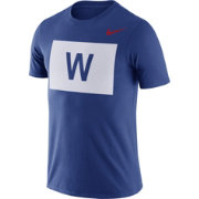 Nike Men's Chicago Cubs Dri-FIT ''W Flag'' T-Shirt