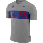 Nike Men's Chicago Cubs Dri-FIT Stripe Wordmark T-Shirt