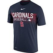 Nike Men's St. Louis Cardinals Dri-FIT Authentic Collection Legend T-Shirt