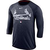 Nike Men's St. Louis Cardinals Dri-FIT Authentic Collection Legend Three-Quarter Sleeve Shirt