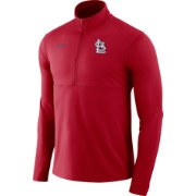 Nike Men's St. Louis Cardinals Dri-FIT Element Half-Zip Jacket