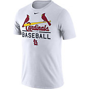 Nike Men's St. Louis Cardinals Practice White T-Shirt
