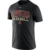 Nike Men's Arizona Diamondbacks Practice Black T-Shirt
