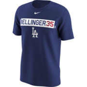 Nike Men's Los Angeles Dodgers Cody Bellinger Dri-FIT Royal Legend T-Shirt