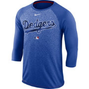 Nike Men's Los Angeles Dodgers Dri-FIT Authentic Collection Legend Three-Quarter Sleeve Shirt