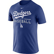 Nike Men's Los Angeles Dodgers Practice Royal T-Shirt