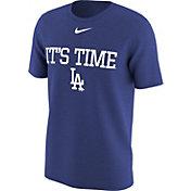 "Nike Men's Los Angeles Dodgers ""It's Time"" Royal T-Shirt"