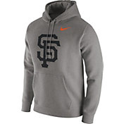 Nike Men's San Francisco Giants Club Grey Pullover Hoodie