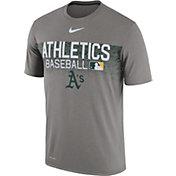 Nike Men's Oakland Athletics Dri-FIT Authentic Collection Legend T-Shirt