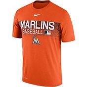Nike Men's Miami Marlins Dri-FIT Authentic Collection Legend T-Shirt