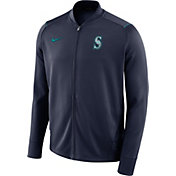 Nike Men's Seattle Mariners Dri-FIT Full-Zip Knit Jacket
