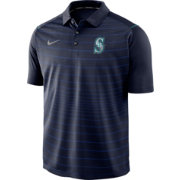 Nike Men's Seattle Mariners Striped Polo