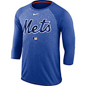 Nike Men's New York Mets Dri-FIT Authentic Collection Legend Three-Quarter Sleeve Shirt