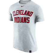 Nike Men's Cleveland Indians Dri-Blend White DNA T-Shirt
