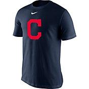 Nike Men's Cleveland Indians Dri-FIT Navy Legend T-Shirt