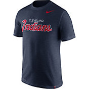 Nike Men's Cleveland Indians Dri-FIT Script T-Shirt