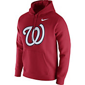 Nike Men's Washington Nationals Club Red Pullover Hoodie