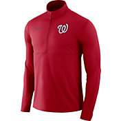 Nike Men's Washington Nationals Dri-FIT Element Half-Zip Jacket