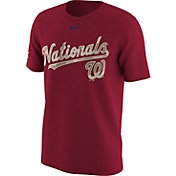 Nike Men's Washington Nationals Memorial Day Red T-Shirt