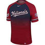 Nike Men's Washington Nationals Dri-FIT Raglan Legend T-Shirt