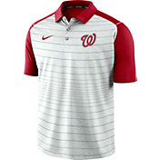 Nike Men's Washington Nationals Striped Polo
