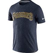 Nike Men's San Diego Padres Marled Navy T-Shirt