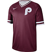 Nike Men's Philadelphia Phillies Cooperstown V-Neck Pullover Jersey