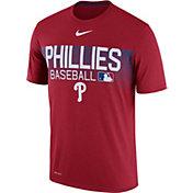 Nike Men's Philadelphia Phillies Dri-FIT Authentic Collection Legend T-Shirt
