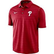 Nike Men's Philadelphia Phillies Striped Polo