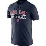 Nike Men's Boston Red Sox Practice Navy T-Shirt