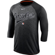 Nike Men's Baltimore Orioles Dri-FIT Authentic Collection Legend Three-Quarter Sleeve Shirt