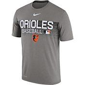Nike Men's Baltimore Orioles Dri-FIT Authentic Collection Legend T-Shirt