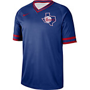 Nike Men's Texas Rangers Cooperstown V-Neck Pullover Jersey