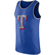 Nike Men's Texas Rangers Wordmark Tank Top