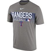 Nike Men's Texas Rangers Dri-FIT Authentic Collection Legend T-Shirt