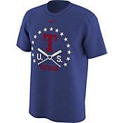 Nike Men's Texas Rangers Dri-FIT Memorial Day Legend Royal T-Shirt