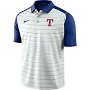 Nike Men's Texas Rangers Striped Polo