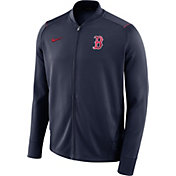 Nike Men's Boston Red Sox Dri-FIT Full-Zip Knit Jacket