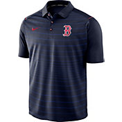 Nike Men's Boston Red Sox Striped Polo