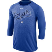 Nike Men's Kansas City Royals Dri-FIT Authentic Collection Legend Three-Quarter Sleeve Shirt
