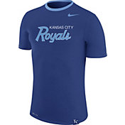 Nike Men's Kansas City Royals Blue T-Shirt
