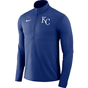 Nike Men's Kansas City Royals Dri-FIT Element Half-Zip Jacket