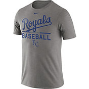 Nike Men's Kansas City Royals Practice Grey T-Shirt