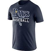 Nike Men's Tampa Bay Rays Practice Navy T-Shirt