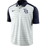 Nike Men's Tampa Bay Rays Striped Polo